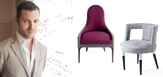 Jean Louis Deniot new furniture collection