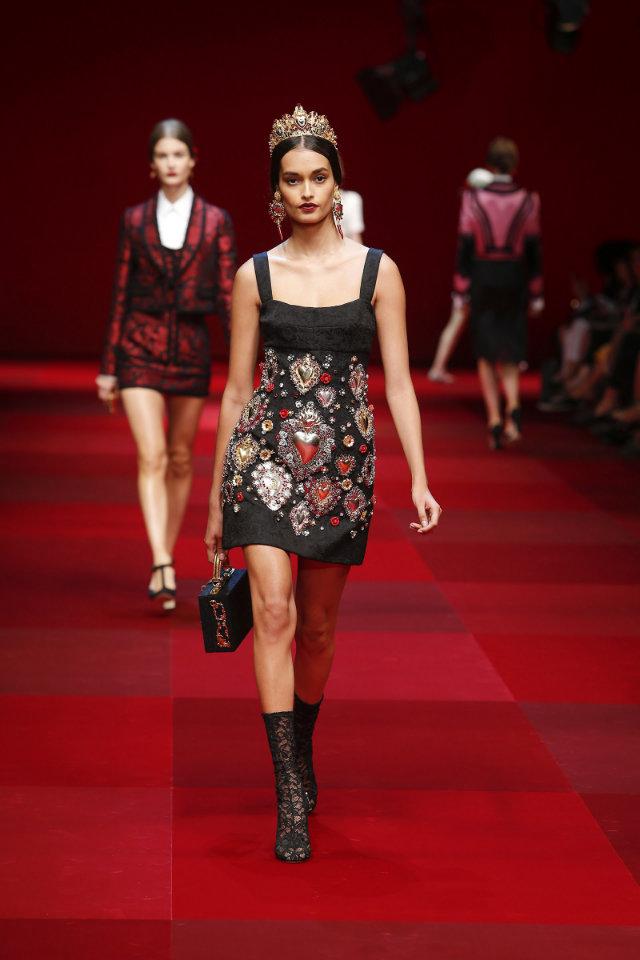 Dolce & Gabbana | Spring 2015 Dolce & Gabbana | Spring 2015 Dolce & Gabbana | Spring 2015 model 4