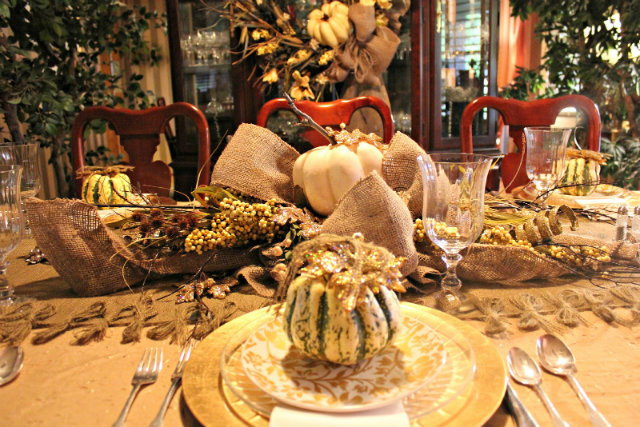 Sugar and spice up your thanksgiving dinner party Fall decorating ideas for dinner party