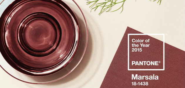 Marsala - Pantone Color of the year 2015