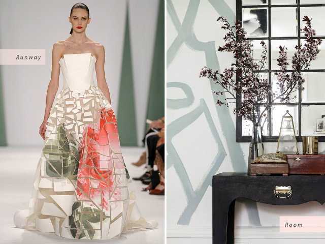 Spring 2015 Trends that inspired Interior Design