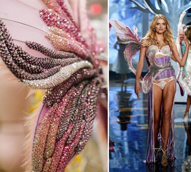 The Making of Victoria's Secret Wings - Swarovski sponsored wings worn by Lily Donaldson