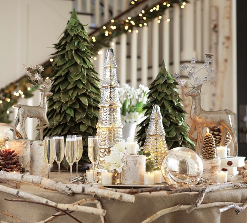 Decorating ideas for your Christmas table