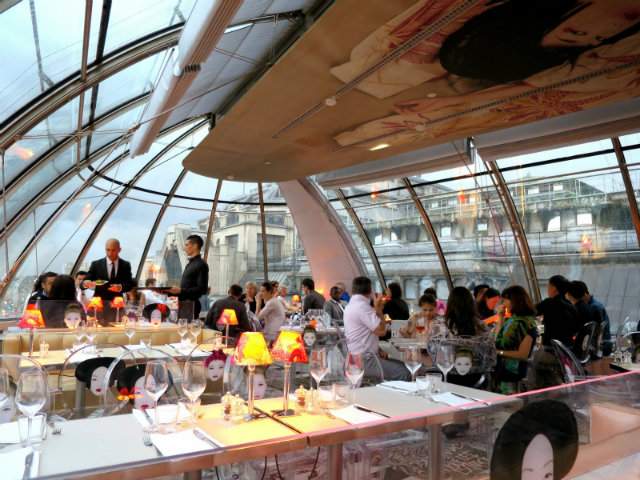 Best design restaurants to visit in paris for Paris restaurant