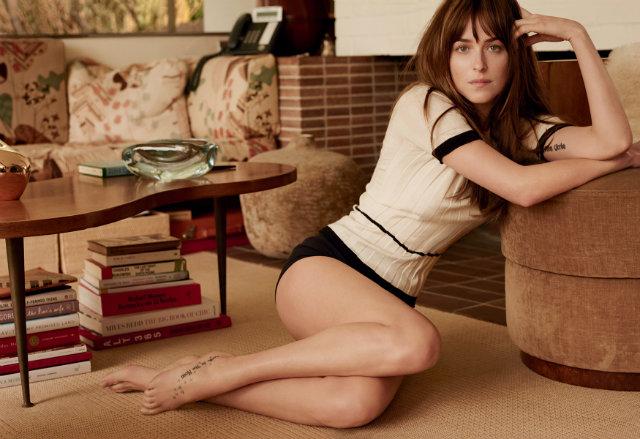 Exclusive 50 Shades of Grey look - Anastasia Steele