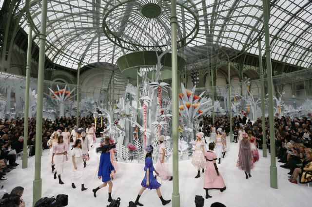 Chanel Paris Fashion Show 2015 at Paris Fashion Week