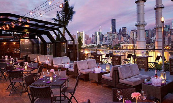 Top rooftop restaurants in new york