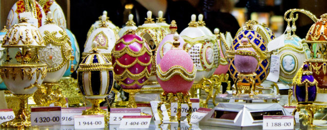 Easter with luxury: The Fabergé Eggs Easter with luxury: The Fabergé Eggs Easter with luxury: The Fabergé Eggs Faberge eggs koket love happens