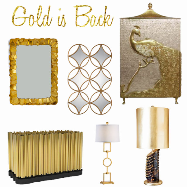 Hottest trends at HPMKT 2015 - Gold is Back