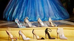 Enchanted affair - Shoe designers sketch Cinderella's glass slipper