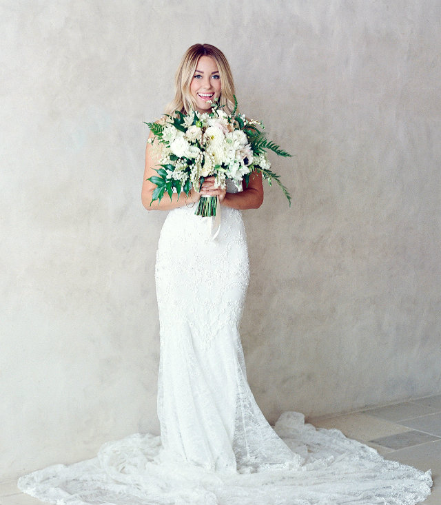 Most Gorgeous Celebrity Bridal Gowns from 2014 - Love Happens Blog