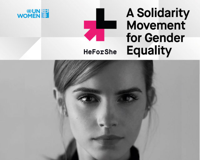 Fashion On Gender Equality Emma Watson S He For She Campaign