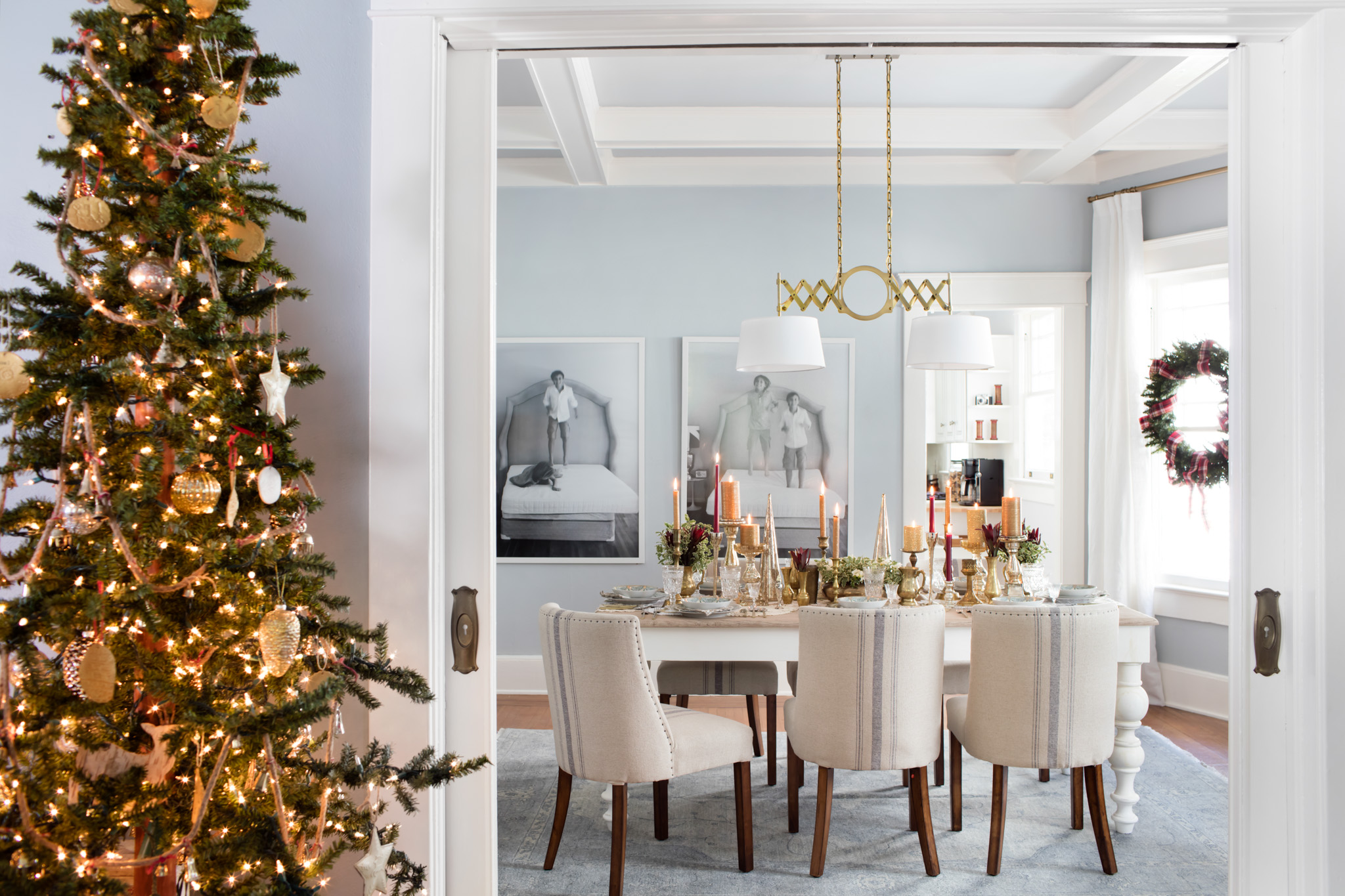 the best luxury christmas tree decoration love happens blog