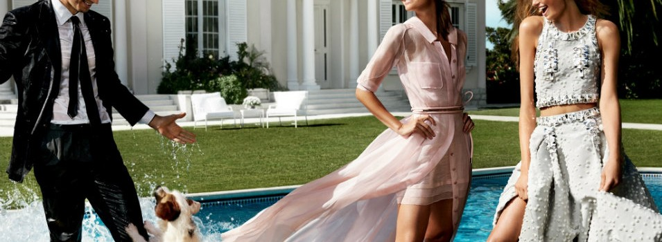 Carolina Herrera meets Mario Testino for Spring/Summer 2016 Campaign