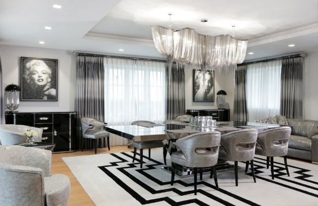 Top designers peter staunton s newest high end interior for High end interior designers london