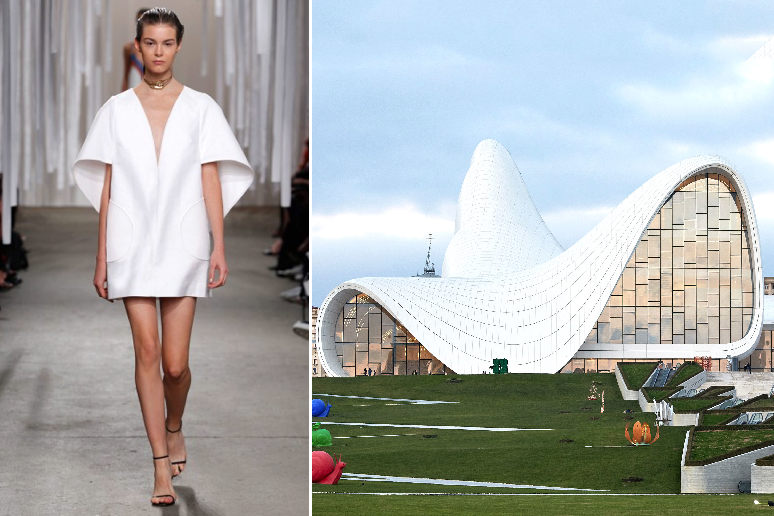 8 Fashion Designers That Are Inspired By Architecture ...