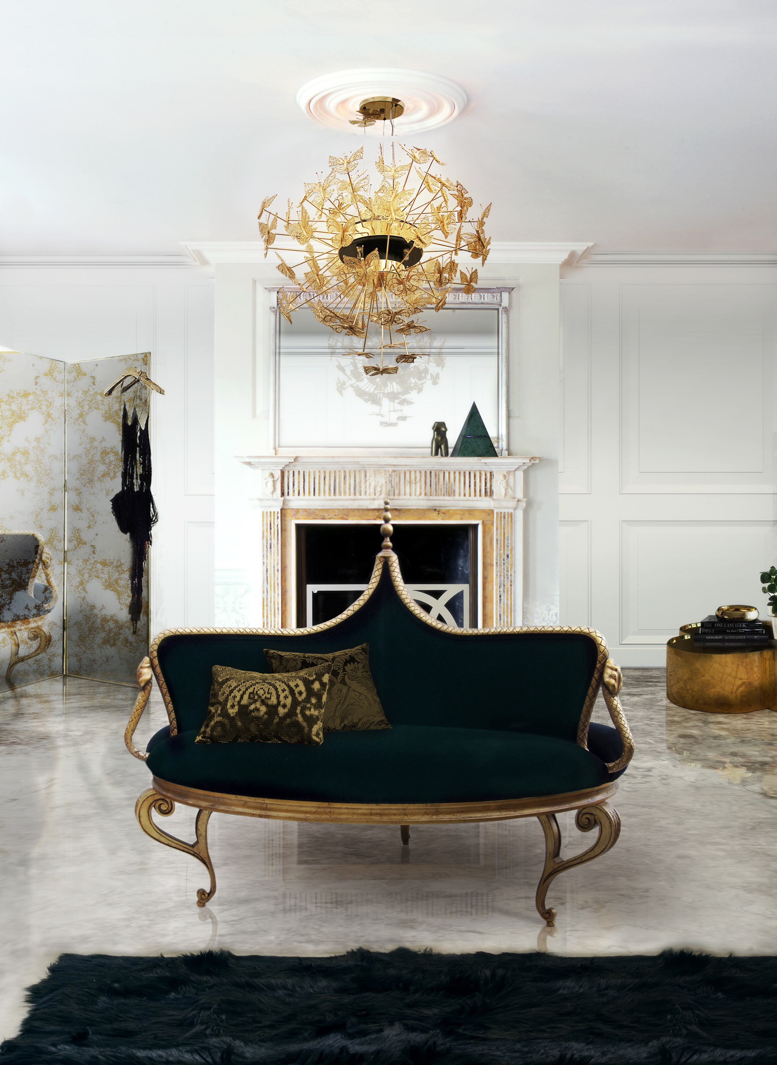 Furniture Ideas for an elegant and refined living room 11