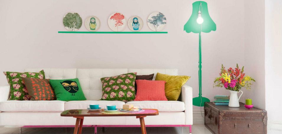10 best spring living room ideas for Spring living room decorating ideas