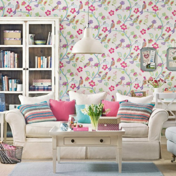 spring living room ideas