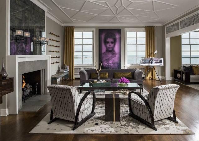 Top Designers* Donna Hall Chicago Divine Project with KOKET