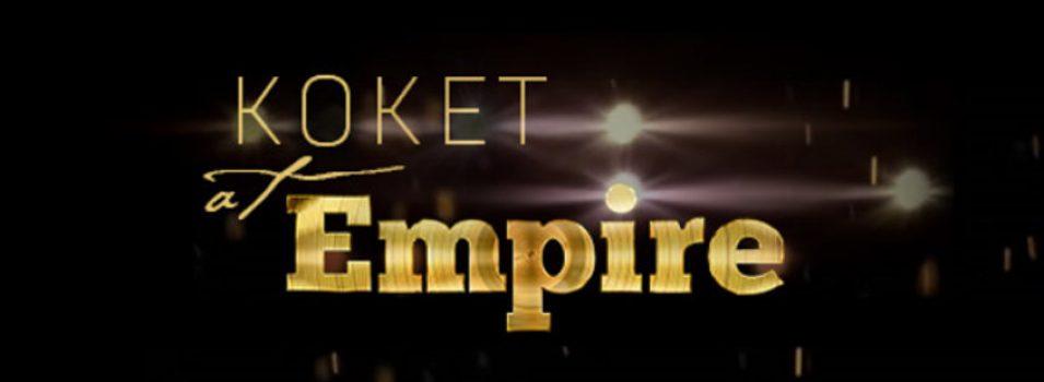 Set Design* KOKET in the Empire Finale