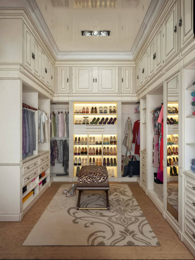 best walk in closet ideas to copy love happens magazine. Black Bedroom Furniture Sets. Home Design Ideas
