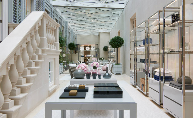 The Entryway Into The Home Section Of The New Dior Store In London Home D Cor
