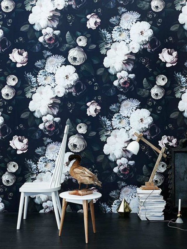 Stunning floral print wallpaper. granny florals Granny Florals on the Rise Granny Florals on the Rise 4