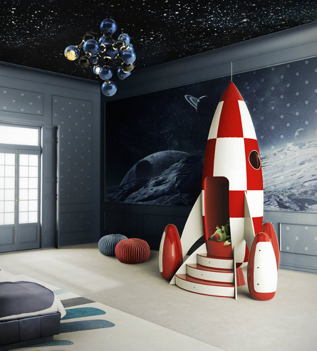 Rocky Rocket is a space themed armchair.