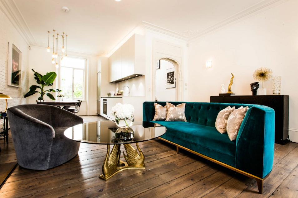 the most desired upholstery fabric: velvet