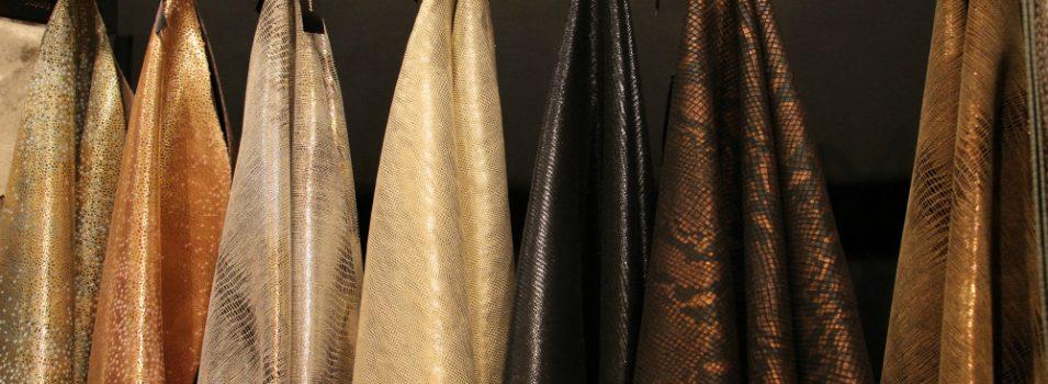 Home Fashion Trend: Metallic Leather