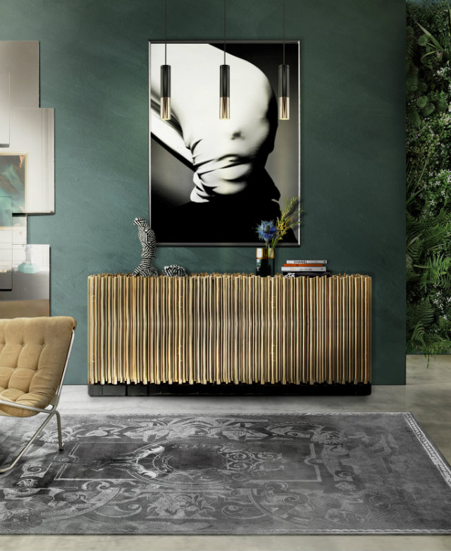 The Symphony sideboard in an interior design project.