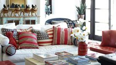 Chic Ways to Decorate in Red, White & Blue