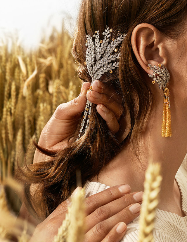 Most of Chanel's high end jewelry collections are inspired by themes present in Coco's life.