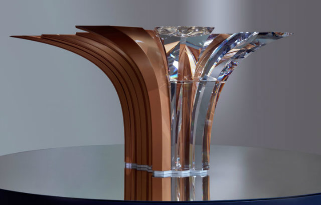 Preview the Atelier Swarovski Home Collection-zaha 1