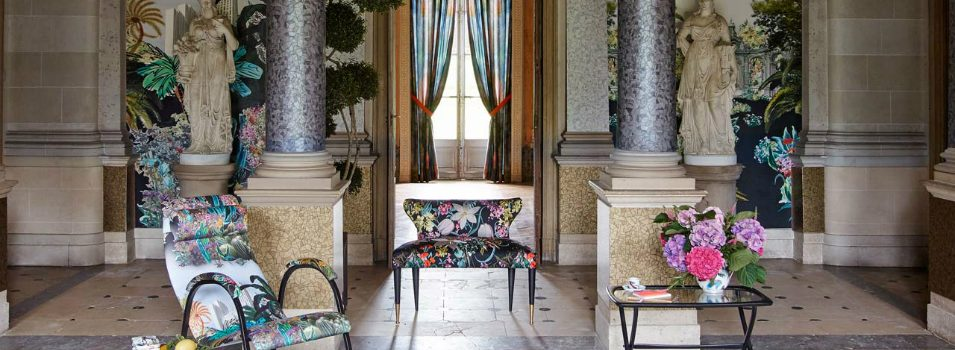 The Exuberant Christian Lacroix Home Collection