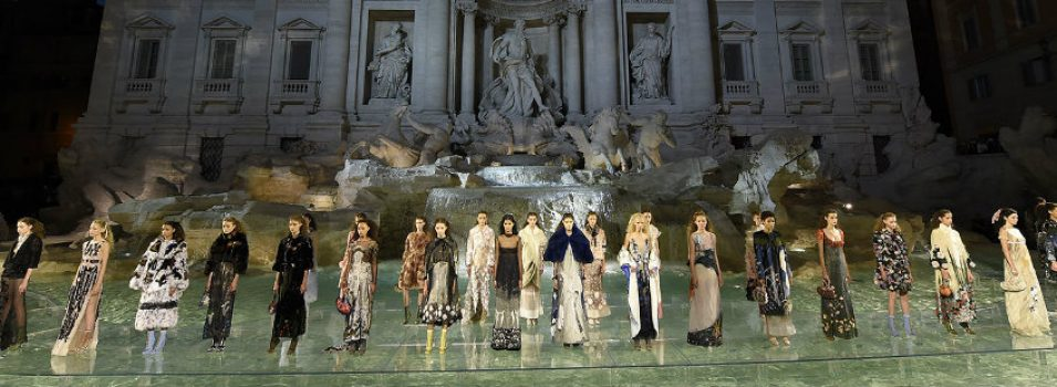 Inside the Fendi Fall 2016 Couture Anniversary Show
