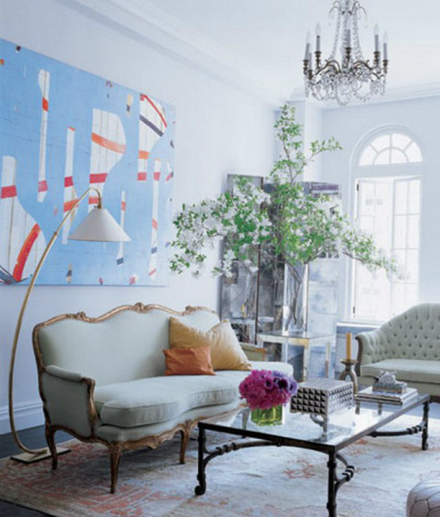 Covetable Interiors: 9 Covetable Celebrity Living Room Ideas