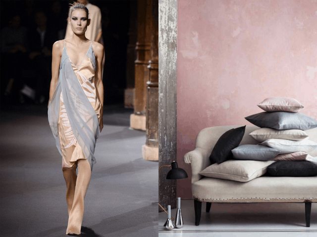 how interior design is making its point into the fashion world