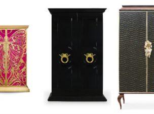 KOKET armoire collection slider