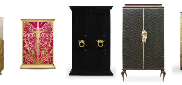 KOKET armoire collection slider