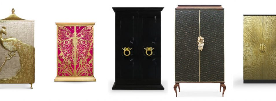 Reveal and Conceal: the KOKET Armoire Collection