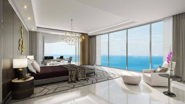 The residences use only the finest materials and come furnished.