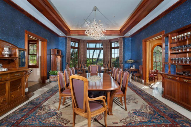 A Dining Room In The Main House Most Expensive Step Inside Americas
