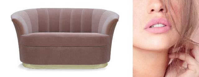 The succulent lines of the lips have sensuously captivated cultures for ages, like the plump curves of the Besame sofa.