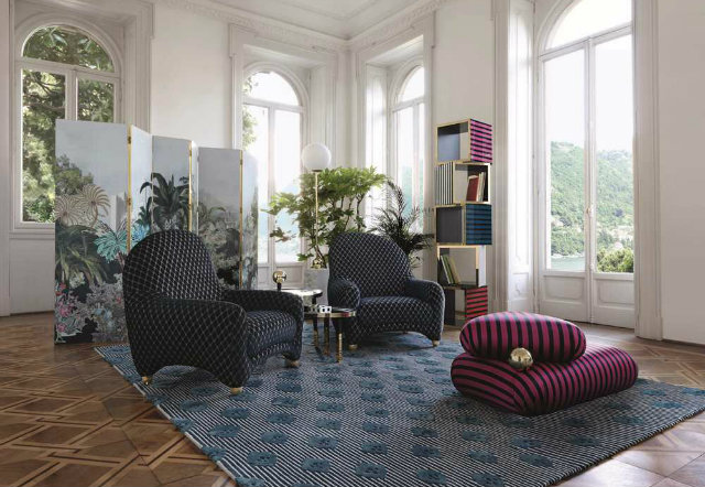 The Christian Lacroix Maison And Roche Bobois Furniture Collaboration 1  Roche Bobois The Christian Lacroix Maison