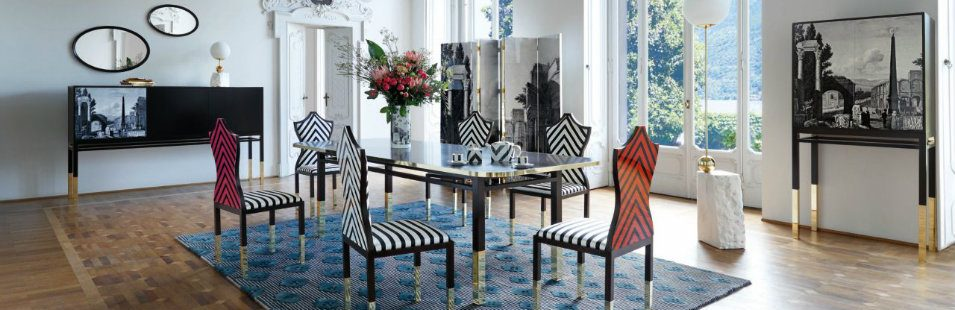 the christian lacroix maison and roche bobois furniture collaboration. Black Bedroom Furniture Sets. Home Design Ideas