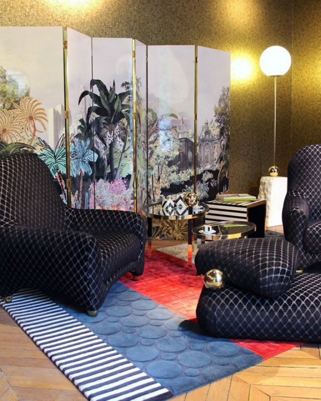 The Christian Lacroix Maison And Roche Bobois Furniture Collaboration 8  Roche Bobois The Christian Lacroix Maison