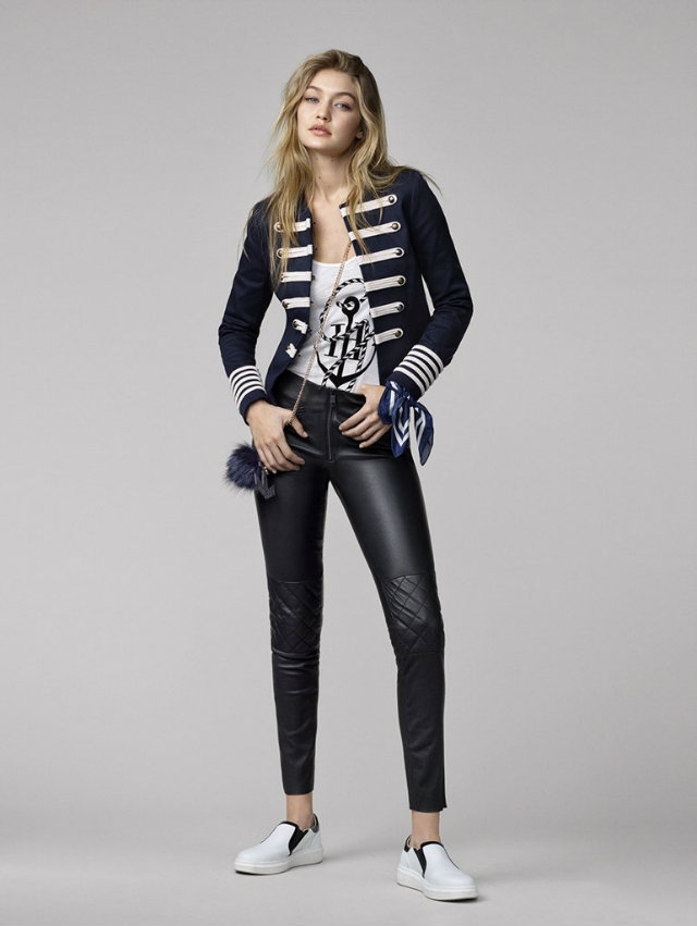 The Gigi Hadid and Tommy Hilfiger Collaboration 3