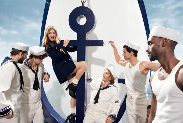 The Gigi Hadid and Tommy Hilfiger Collaboration 8